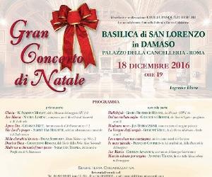 Concerti: Gran concerto di Natale