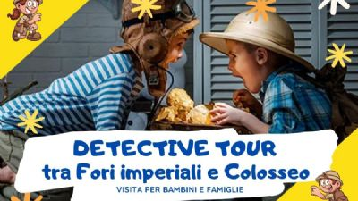 Visite guidate: Detective tour tra i Fori e Colosseo