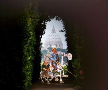 Locandina evento: Le Avventure di Don Chisciotte al Giardino degli Aranci