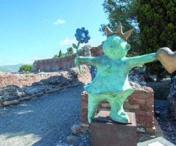 Mostre - Carin Grudda. Fantasie contemporanee ad Ostia Antica