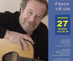 Recital voce e chitarre di Edeoardo De Angelis
