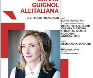 Lunetta Savino all'Eliseo diretta da Alessandro D'Alatri