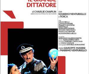 Massimo Venturiello porta sulla scena teatrale l'opera di Charlie Chaplin