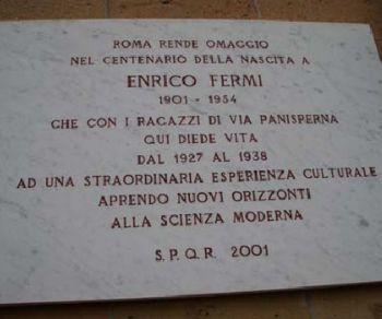 Visite guidate: Enrico Fermi, Majorana e i ragazzi di Via Panisperna
