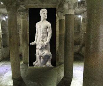 Bambini - La leggenda di Ercole e Caco narrata dai sotterranei del Foro Boario