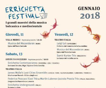 Festival: Errichetta Festival