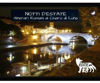 Visite guidate - Roma al Chiaro di Luna