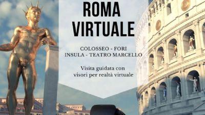 Visite guidate - Roma virtuale. Colosseo, Fori, insula, teatro Marcello