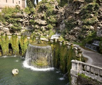 "Visite guidate - I ""Fuochi pirotecnici d'acqua"" di Villa D'Este a Tivoli"