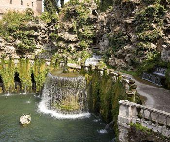 Visite guidate - Spettacolo pirotecnico d'acque: Villa d'Este a Tivoli