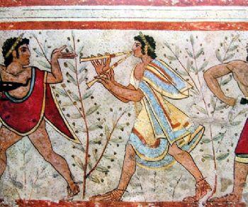 Mostre - Colori degli Etruschi