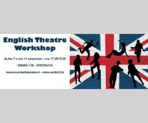 5 giorni di teatro in lingua inglese dedicati a ragazzi e ragazze