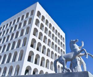 L'Eur e il Palazzo della Civiltà Italiana