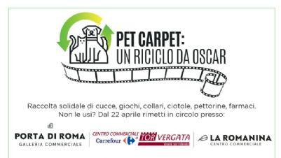 Altri eventi - Pet Carpet: un riciclo da Oscar