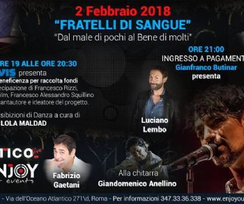 "Spettacoli: La Enjoy Your Events presenta ""Fratelli di sangue"""
