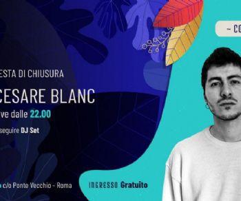 Concerti: Gran finale con Cesare Blanc all'Aniene Festival