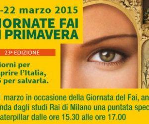 Sabato 21 e domenica 22 marzo tieniti libero: potrai scoprire insieme tantissimi luoghi unici d'arte e natura in tutta Italia, normalmente inaccessibili