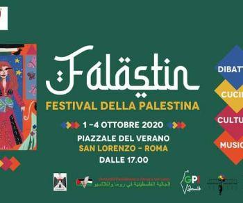 Locandina: Falastin Festival 2020