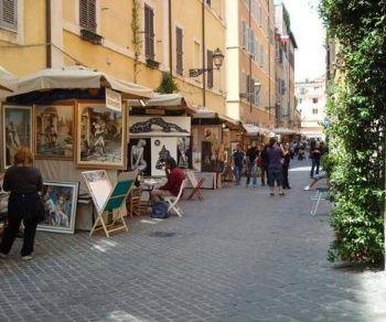 Mostre - 111^ Mostra Cento Pittori Via Margutta