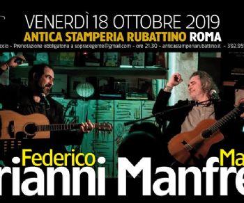 Locali - Federico Sirianni e Max Manfredi LIVE