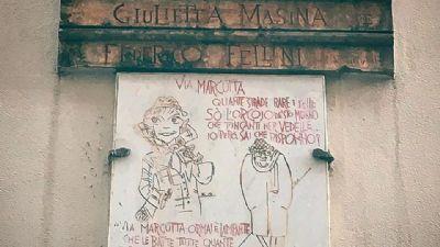 Visite guidate - Qui vissero Roma Giulietta Masina e Federico Fellini, una coppia da Oscar