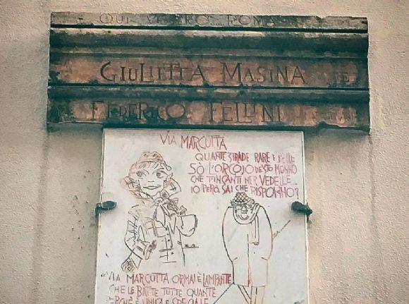 """Visite guidate - Qui vissero Roma Federico Fellini e Giulietta Masina"""": i luoghi di un amore da Oscar"""
