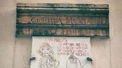 Visite guidate - Qui vissero Roma Giulietta Masina e Federico Fellini