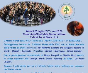 Concerti - Festa d'Estate de L'Albero Verde della Vita: evento di beneficienza