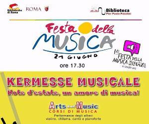 Festa della Musica 2017 alla Biblioteca Pasolini