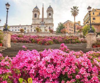Romantico Pincio E La Festa Delle Azalee Terrazza Del