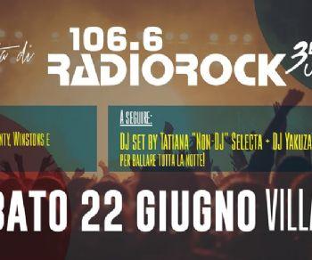 Locandina: Radio Rock festeggia i suoi 35 anni