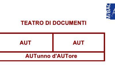 Festival - Aut Aut - Autunno d'Autore, prima edizione