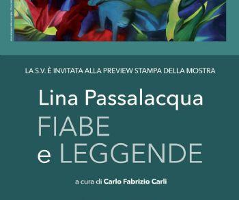 Una monografica della pittrice calabrese, da molti anni naturalizzata romana, Lina Passalacqua