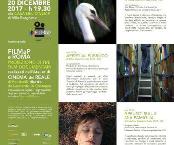 Tre film documentari realizzati nell'Atelier del cinema del reale di Ponticelli