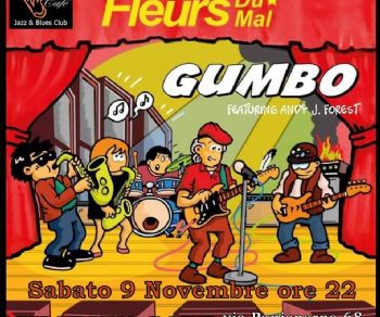 Locali: Fleurs du Mal presentano il disco Gumbo al Charity Café