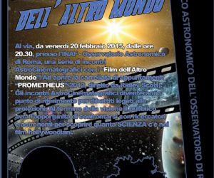 Una serie di incontri AstroCinematografici