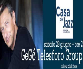 Festival - Gegè Telesforo in concerto