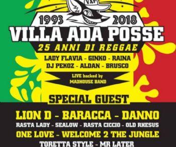 Villa Ada Posse festeggia al Forte Prenestino