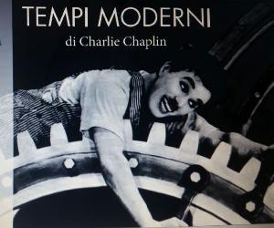 """Concerti: """"Tempi moderni"""" di Charlie Chaplin sonorizzato dal vivo dai Frangar Non Flectar"""
