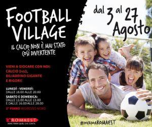 Attività: Romaest Football Village