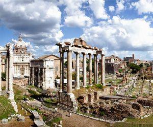 Visìta al Foro romano
