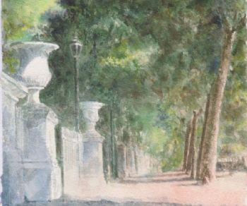 Mostre - Verdi Armonie. I Giardini di Roma all'acquerello