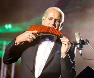 Concerti: Gheorghe Zamfir e la sua band