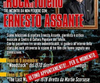 Altri eventi - Cineforum: Il Rock al Tufello