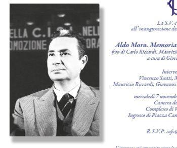 Mostre - Aldo Moro. Memoria, politica, democrazia