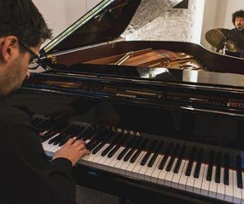 Per festeggiare il Natale il Goethe-Institut ha invitato un duo jazz straordinario