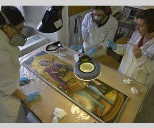 L'Istituto apre le porte del Laboratorio dipinti su tavola