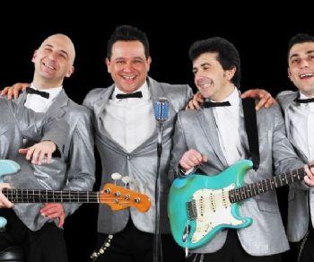 Locali: Bevo Solo Rock'n Roll al Cotton Club: Four Vegas in concerto