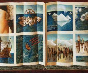 Ultimo progetto e più recente ciclo pittorico del celebre artista romano Franco Fortunato