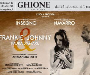 Pino Insegno e Alessia Navarro in 'Frankie & Johnny paura d'amare'